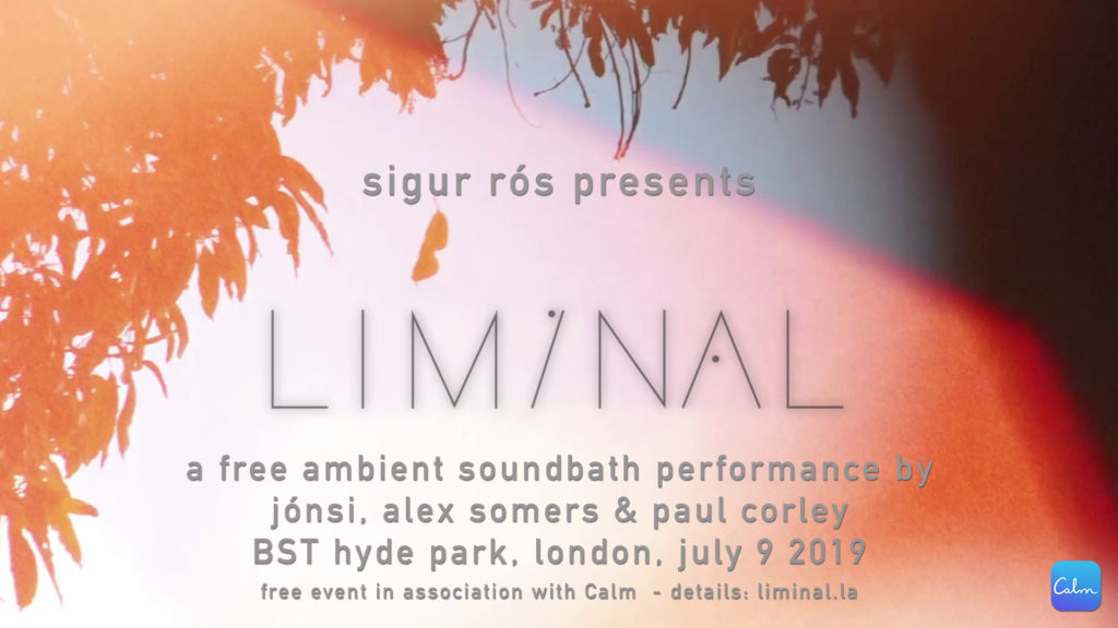 london, july 9 free ambient soundbath